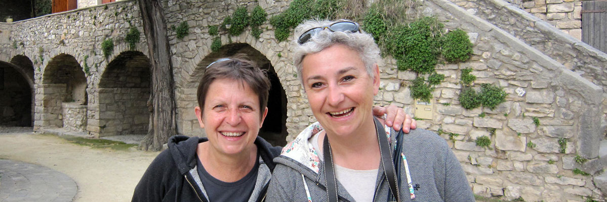 Fabienne Boutier et Chantal Monnier, traiteur en Pic Saint Loup