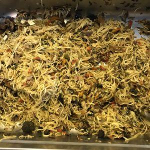 Nouilles sautées au wok
